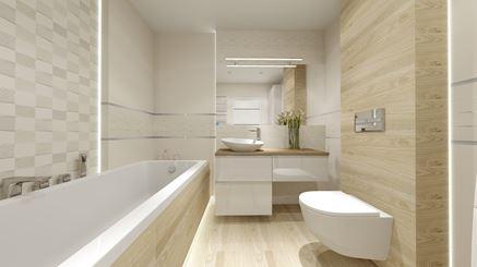 Aranżacja łazienki z kolekcją Veridiana