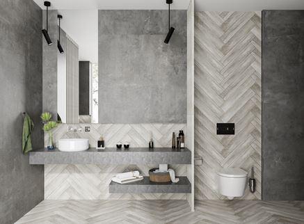 Połączenie drewna i betonu w kolekcjach Notta i Softcement marki Cerrad