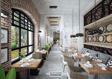 Restauracja w starej fabryce