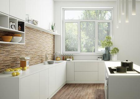 Aranżacja kuchni z oknem