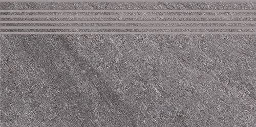 Cersanit Bolt grey steptread matt rect ND090-022