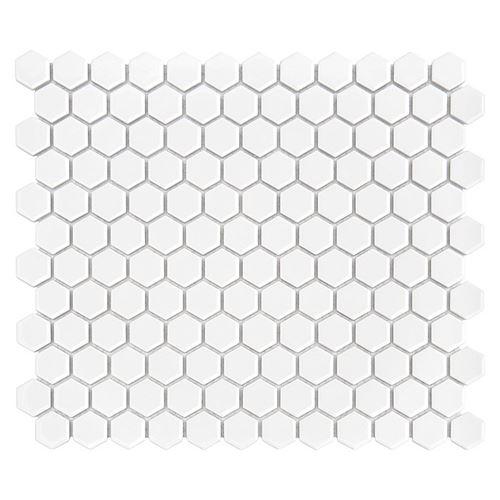 Dunin Hexagonic Mini Hexagon White