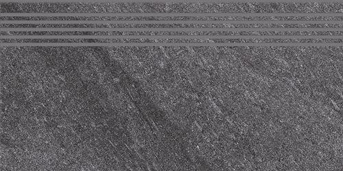Cersanit Bolt dark grey steptread matt rect ND090-018