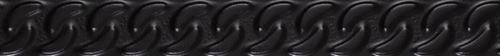 Paradyż Fashion Spirit Black Listwa Struktura Mat