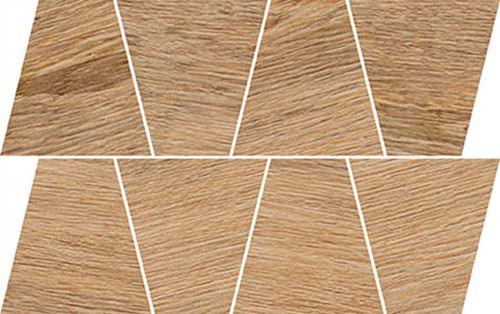 Opoczno Rustic Light Brown Mozaic Trapeze OD498-079