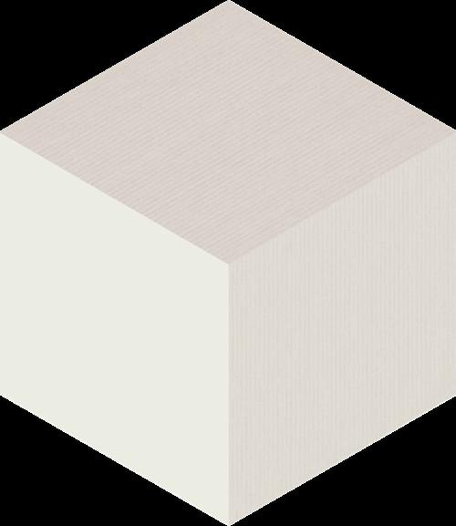 Paradyż Esagon Cube Crema Ściana