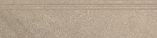 Cersanit Bolt beige steptread matt rect ND090-012