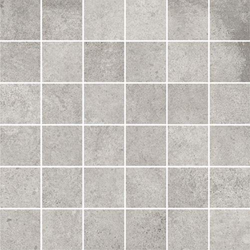 Cersanit Diverso light grey mosaic matt rect ND576-036