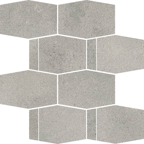 Paradyż Naturstone Antracite Mozaika Cięta Hexagon Mix