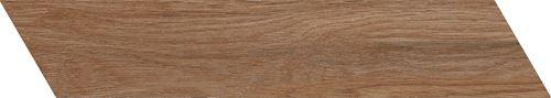 Azario Chevron Walnut Mat