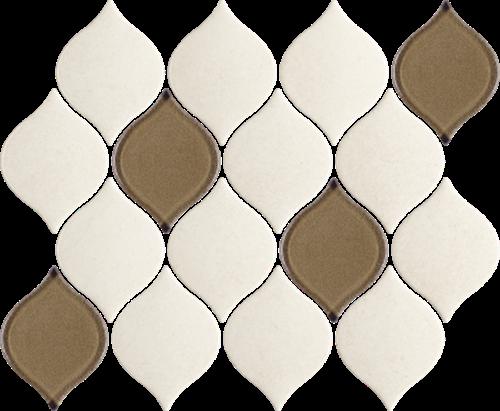 Paradyż Mistysand Crema Mozaika Prasowana Arabeska Mix