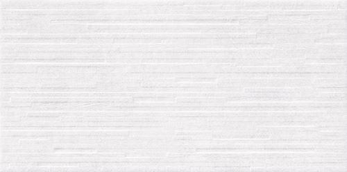 Opoczno Vidal White Structure Satin Rect NT1168-014-1