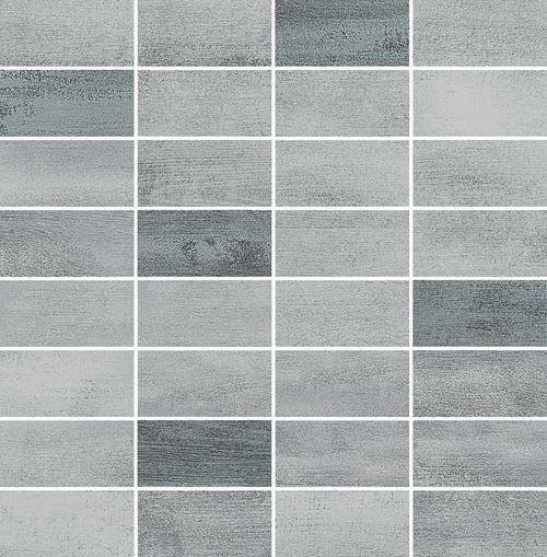 Opoczno Floorwood Grey-Graphite Mix Mosaic OD707-036