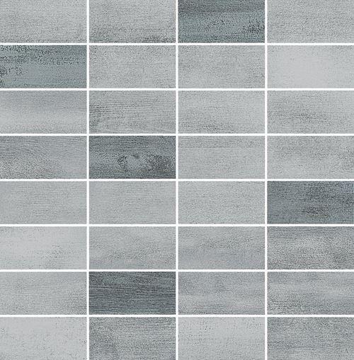 Opoczno Floorwood Grey-Graphite Mix Mosaic OD707-036