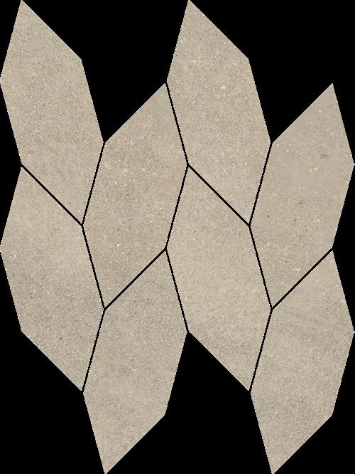 Paradyż Smoothstone Bianco Mozaika Cięta Satyna