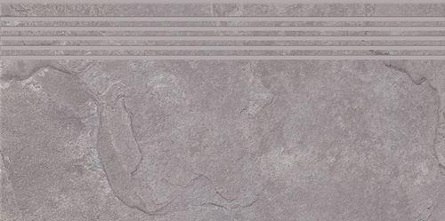 Cersanit Colosal light grey steptread matt rect ND1140-025