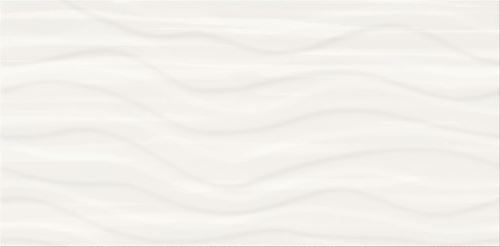 Cersanit Soft Romantic Ps803 white satin wave structure W564-002-1