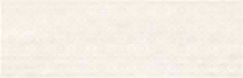 Cersanit Ferano white lace inserto satin ND859-003