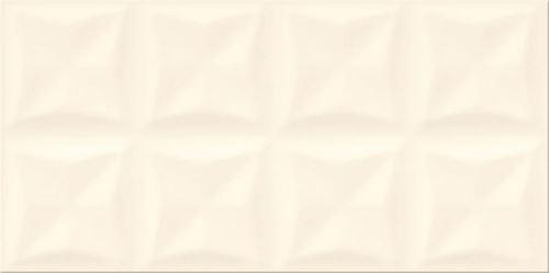 Opoczno Origami Vanilla Glossy Structure OP658-020-1