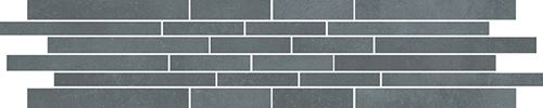 Cersanit Velvet Concrete grey mosaic matt stripes rect ND1110-054