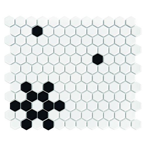 Dunin Hexagonic Mini Hexagon B&W Snow