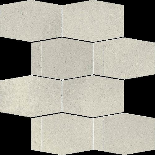 Paradyż Naturstone Grys Mozaika Cięta Hexagon Mix