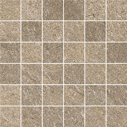 Cersanit Bolt brown mosaic matt rect ND090-054