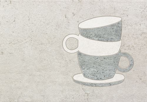 Domino Gris Coffee cup