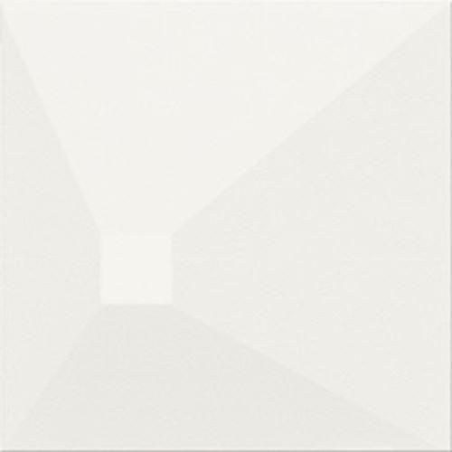 Opoczno Monoblock White matt 3D Effect OP499-008-1