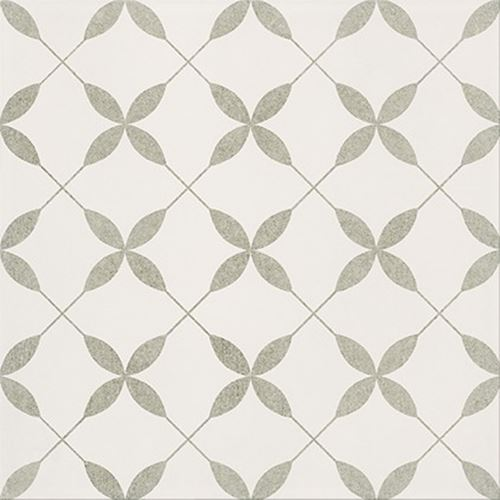 Opoczno Patchwork Clover Grey Pattern OP867-007-1