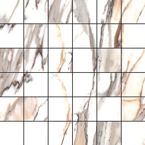 Cerrad Calacatta gold Poler mozaika