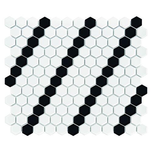 Dunin Hexagonic Mini Hexagon B&W Lean