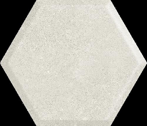 Paradyż Woodskin Grys Heksagon Struktura A Ściana 19,8X17,1
