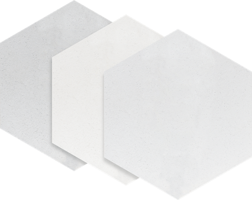 Paradyż Esagon Concrete Silver Gres Szkl