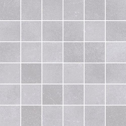 Cersanit Velvet Concrete white mosaic matt rect ND1110-052