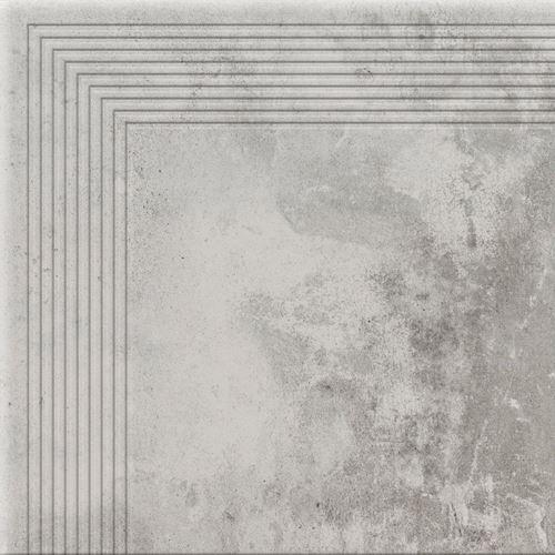 Cerrad Stopnica narożna Piatto gris 18631