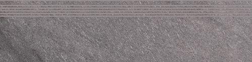 Cersanit Bolt grey steptread matt rect ND090-021