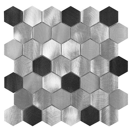 Allumi Grey Hexagon Mix 48