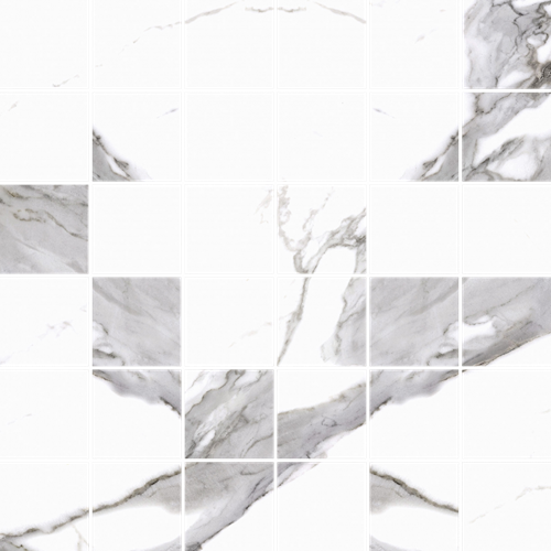 Cerrad Calacatta white Mat mozaika