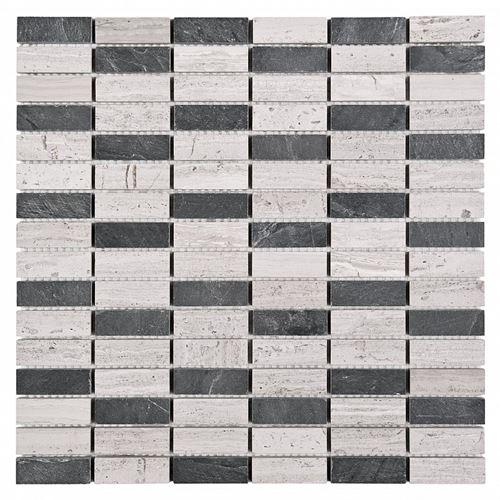 Dunin Woodstone Grey block mix 48