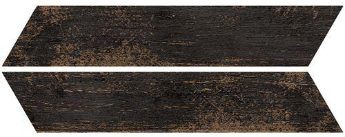 Azario Chevron Negro Mat