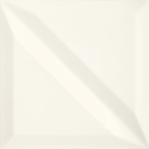 Opoczno Monoblock White Half Bar Glossy OP499-040-1
