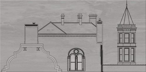 Cersanit City Grey Inserto House A WD613-005