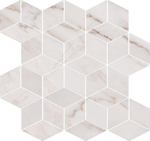 Opoczno Carrara Mosaic White OD001-022