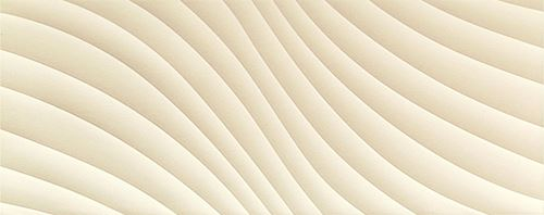 Tubądzin Elementary ivory wave