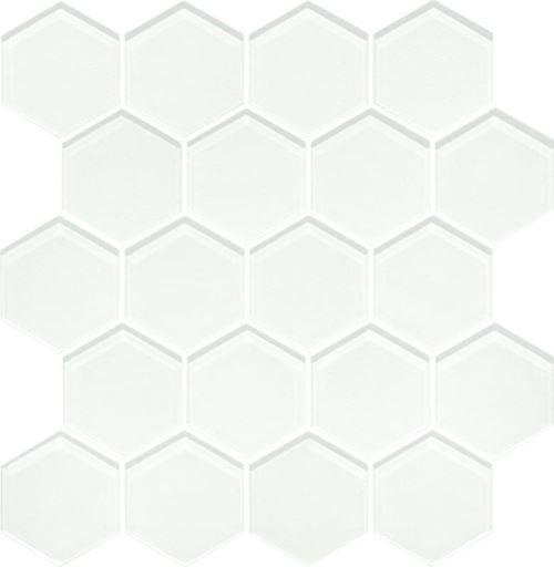 Paradyż Uniwersalna Mozaika Szklana Ivory Heksagon