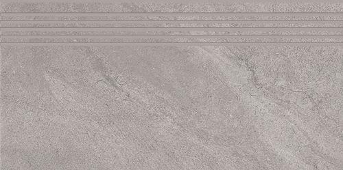 Cersanit Spectral light grey steptread matt rect ND816-028