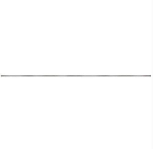 Cersanit Metal silver border matt WD929-016