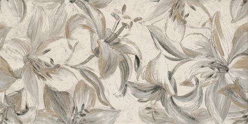 Paradyż Domus Beige Inserto Flower