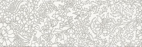 Opoczno White Inserto Flower OD334-012